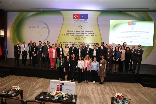 "The Opening Meeting Of The ""Technical Assistance for Capacity Building For Measure Advisory Services Of the IPARD II Programme In Turkey"